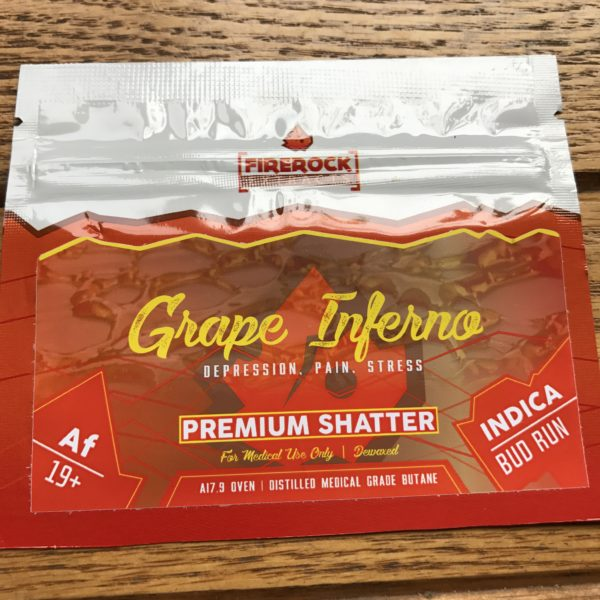 Firerock Extracts Grape Inferno
