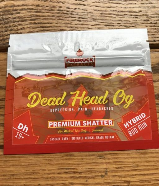 Firerock Extracts Dead Head OG