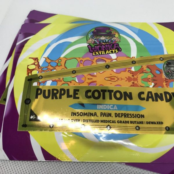 Purple Cotton Candy | Wonka Extracts