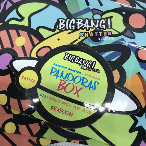 Pandora's Box | Big Bang Shatter