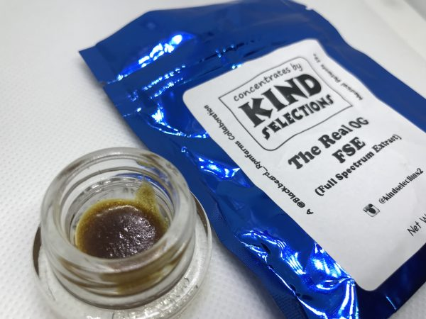 The Real OG FSE (Full Spectrum Extract) | Kind Selections