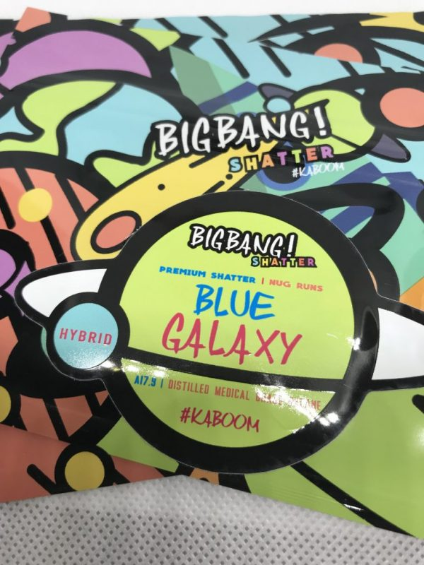 Blue Galaxy | Big Bang Shatter