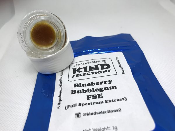 Blueberry Bubblegum FSE (Full Spectrum Extract) | Kind Selections
