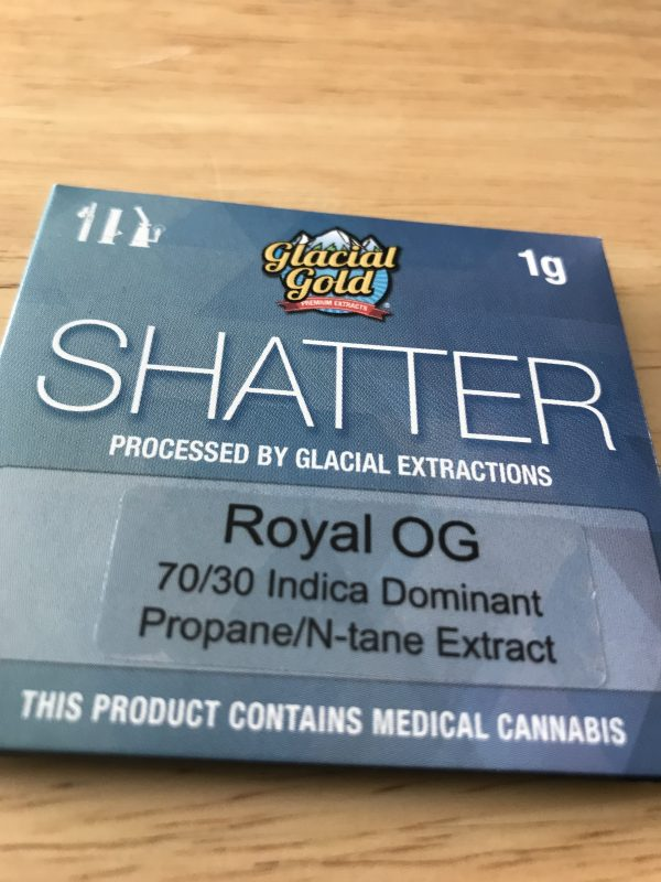 Royal OG | Glacial Gold Premium Extracts