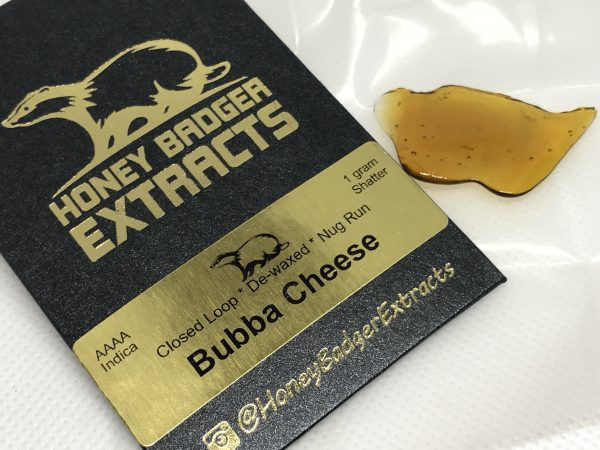 Bubba Cheese | Honey Badger Extracts