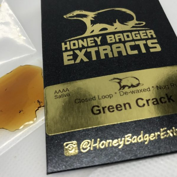 Green Crack | Honey Badger Extracts
