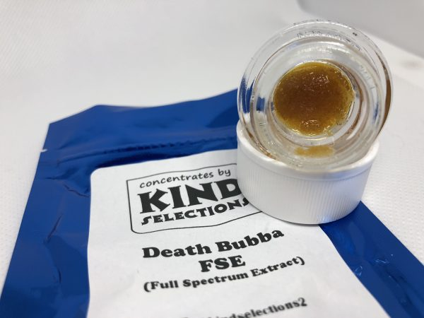 Death Bubba FSE (Full Spectrum Extract) | Kind Selections