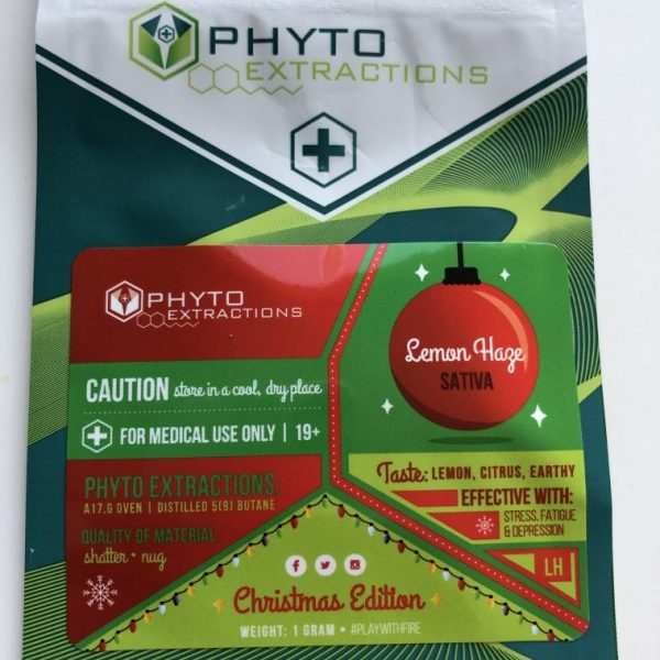 Lemon Haze | PHYTO Extraction