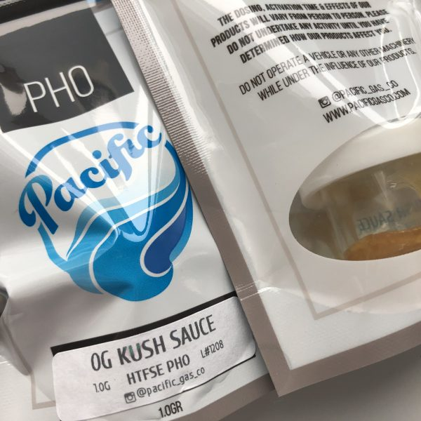 OG Kush Sauce | Pacific Gas Co