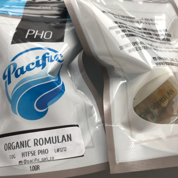 Organic Romulan Wax | Pacific Gas Co