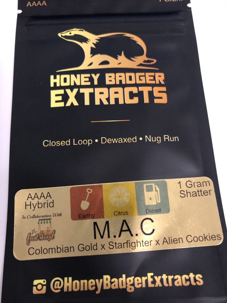 M.A.C. Shatter | Honey Badger Extracts