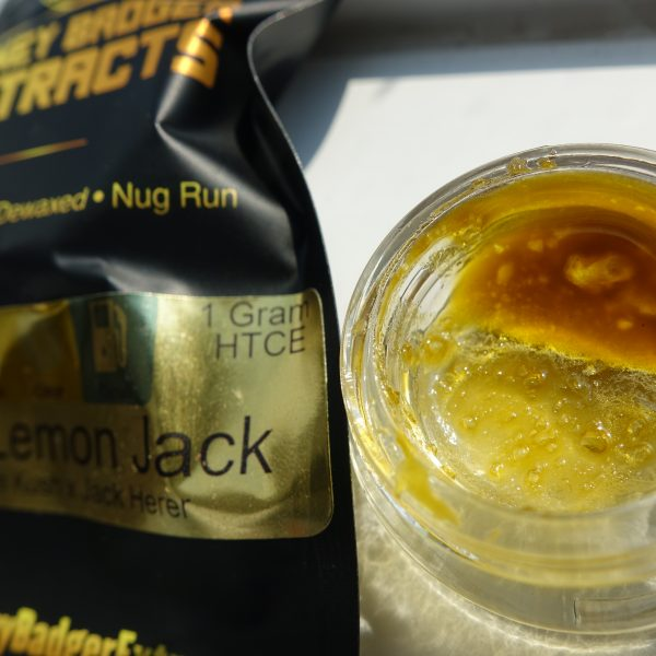 Lemon Jack HTCE Honey Badger ExtractsLemon Jack HTCE Honey Badger Extracts