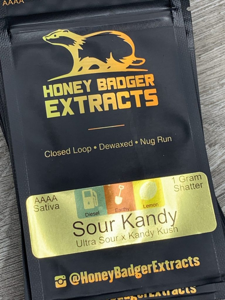 Sour Kandy Shatter | Honey Badger Extracts