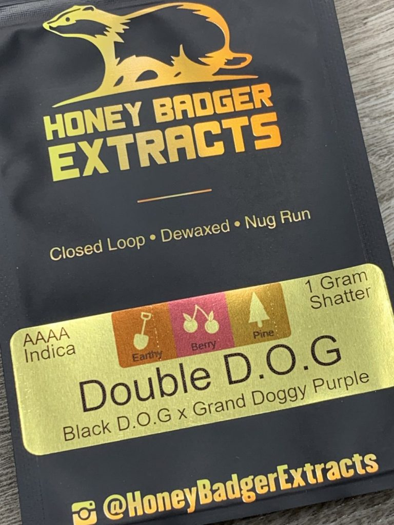 Double Dog Shatter | Honey Badger Extracts