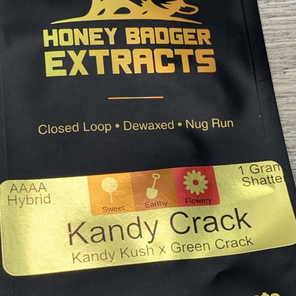 Kandy Crack Shatter | Honey Badger Extracts