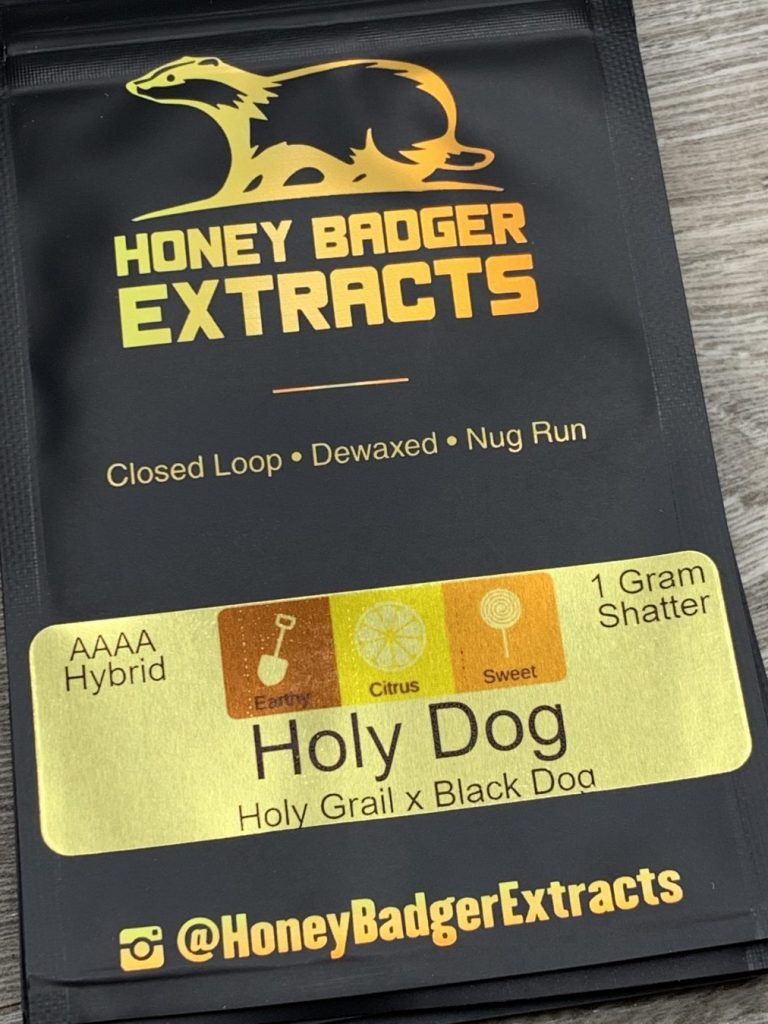 Holy Dog Shatter | Honey Badger Extracts