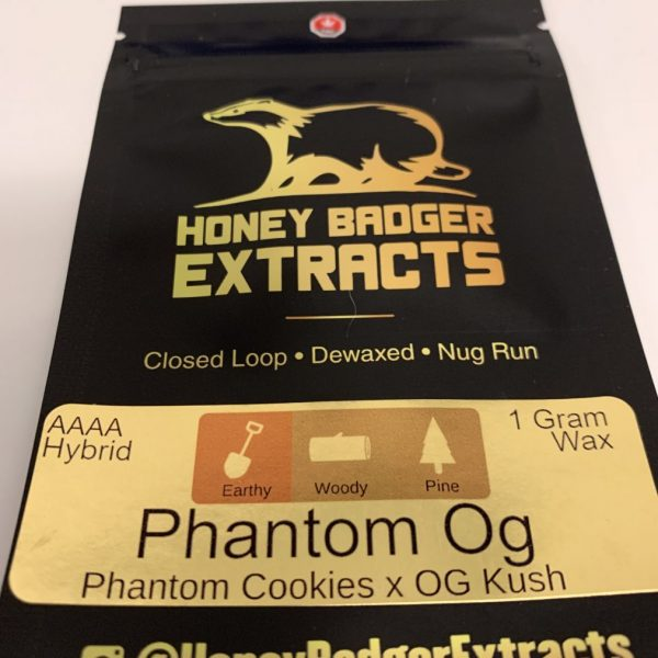 Phantom OG Wax | Honey Badger Extracts