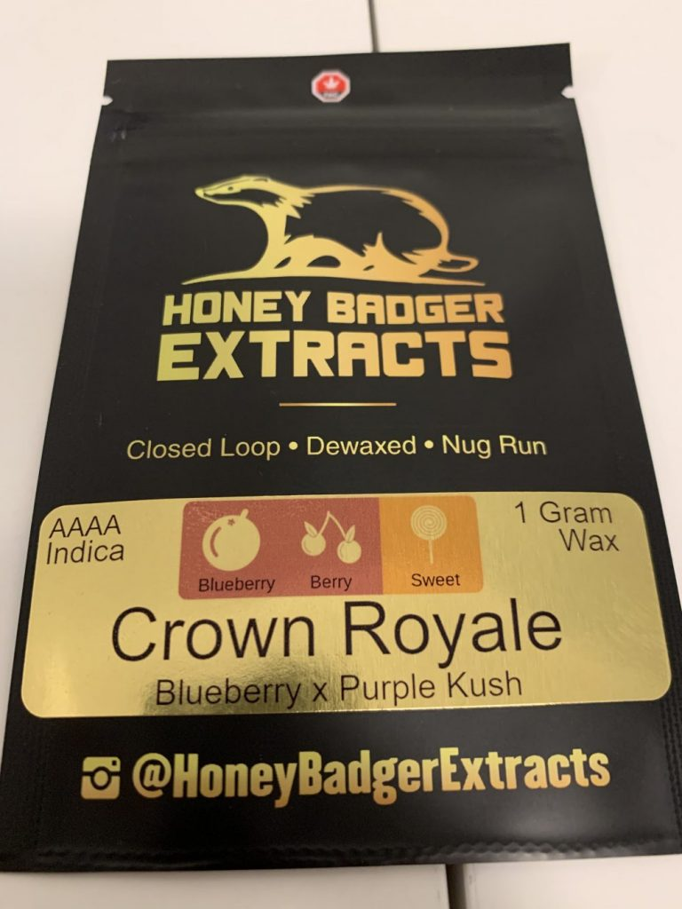 Crown Royale Sugar Wax | Honey Badger Extracts