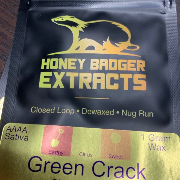Green Crack Wax | Honey Badger Extracts
