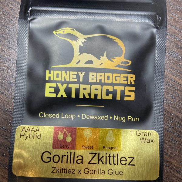 Gorilla Skittlez Wax | Honey Badger Extracts
