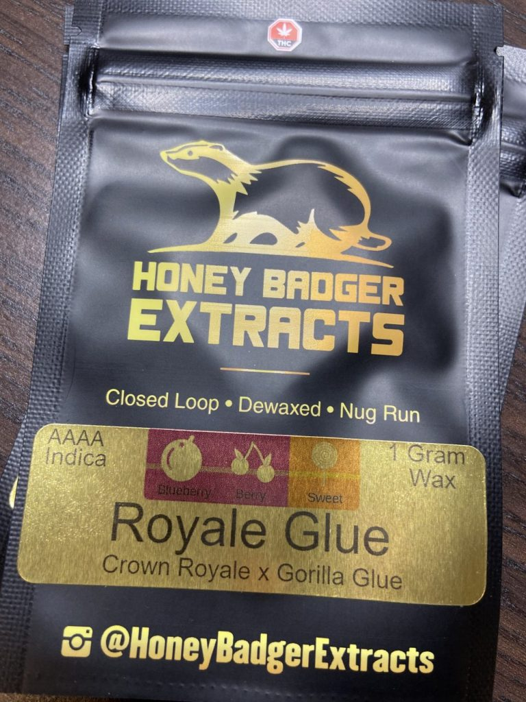 Royale Glue Shatter | Honey Badger Extracts