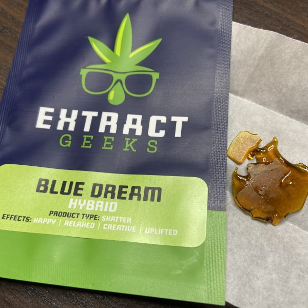 Blue Dream Shatter | Extract Geeks