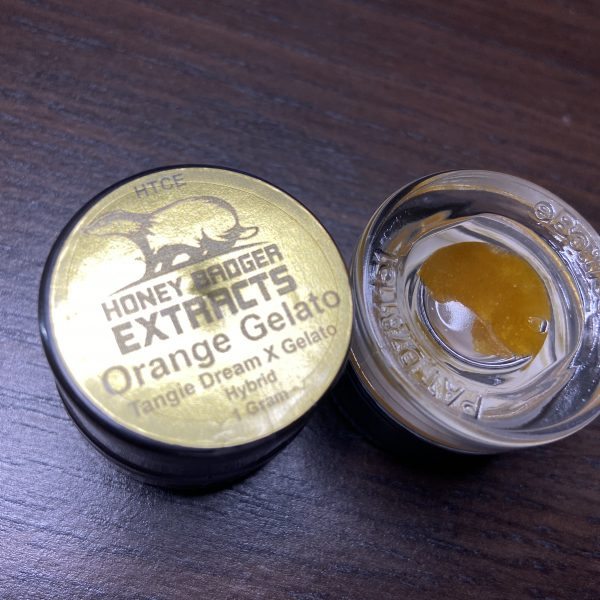 Orange Gelato HTCE | Honey Badger Extracts