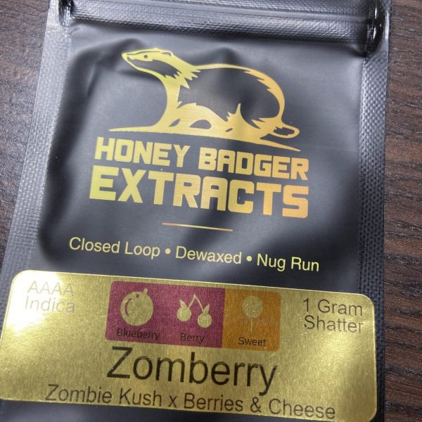 Zomberry Shatter | Honey Badger Extracts