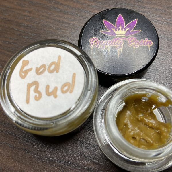 God Bud Rosin | Royalty Rosin