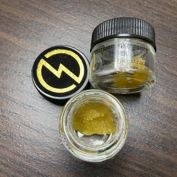Platinum Girl Scout Cookies Sauce | HighVoltage Extracts