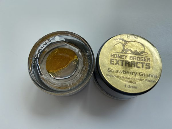 Strawberry Guava HTCE   Honey Badger Extracts