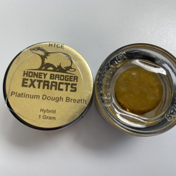 Platinum Dough Breath HTCE | Honey Badger Extracts