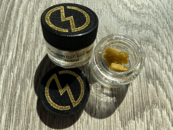 Platinum Girl Scout Cookies Live Resin | HighVoltage Extracts