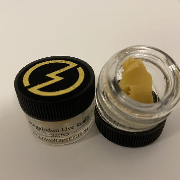 Megalodon Live Resin   HighVoltage Extracts