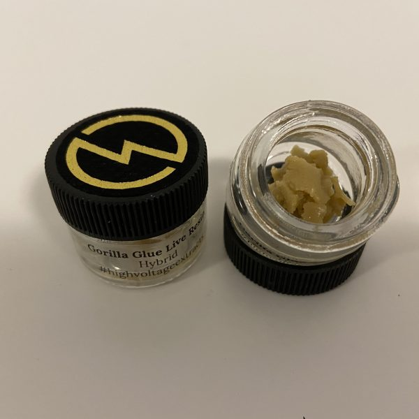 Gorilla Glue Live Resin | HighVoltage Extracts