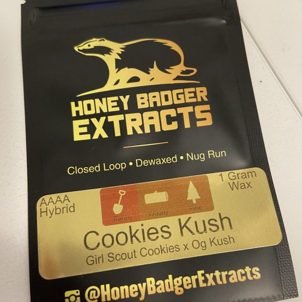 Cookies Kush Wax | Honey Badger Extracts