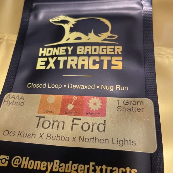 Tom Ford Shatter | Honey Badger Extracts