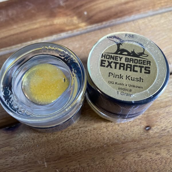 Pink Kush FSE | Honey Badger Extracts