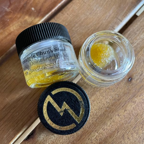 Pineapple Chunk Sauce | HighVoltage Extracts
