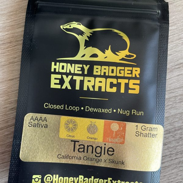 Tangie Shatter | Honey Badger Extracts