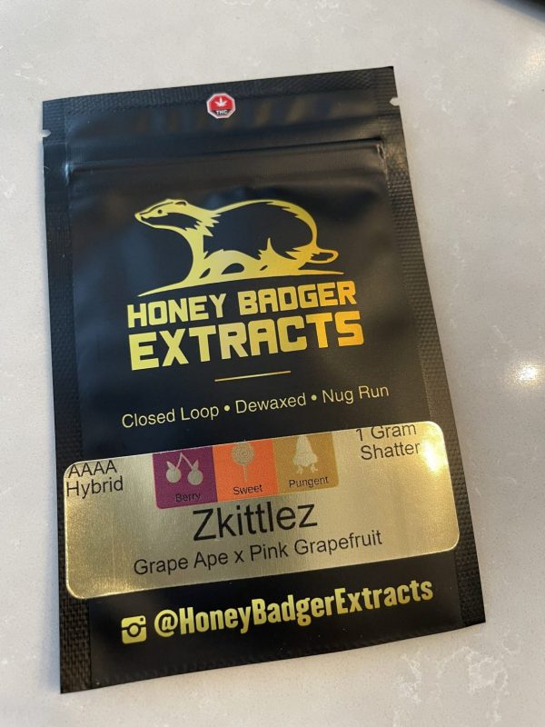 Zkilltez Shatter | Honey Badger Extracts