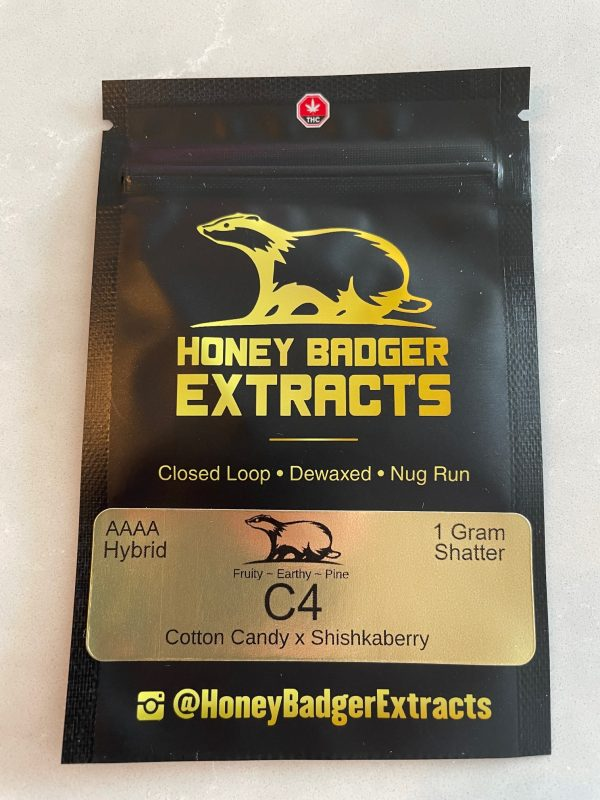 C4 Shatter | Honey Badger Extracts