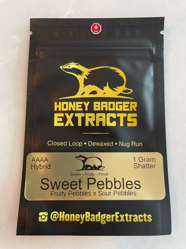 Sweet Pebbles Shatter | Honey Badger Extracts