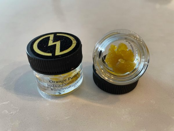 Orange Punch (Indica Hybrid) Sauce | High Voltage Extracts