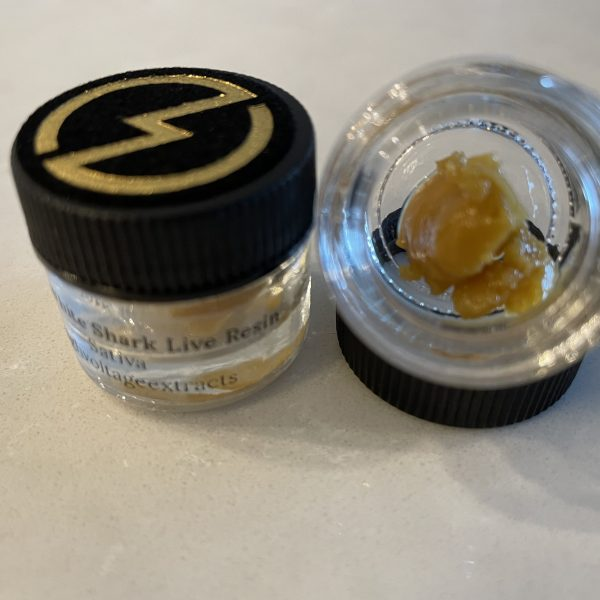 Great White Shark (Sativa) Live Resin | High Voltage Extracts