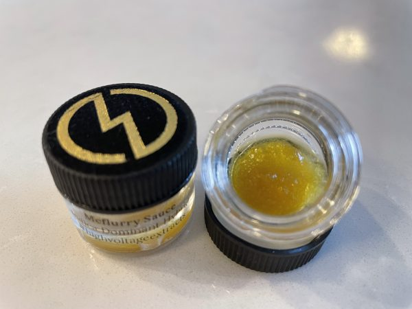 McFlurry (Indica Hybrid) Sauce | High Voltage Extracts