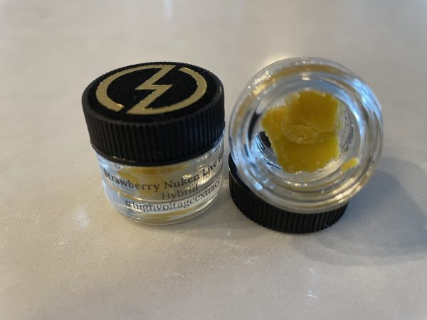Strawberry Nuken (Hybrid) Live Resin | High Voltage Extracts