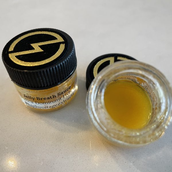 Jelly Breath (Hybrid Indica) Sauce | High Voltage Extracts
