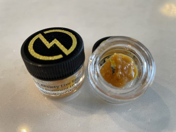 Pink Anxiety (Indica Hybrid) Live Resin | High Voltage Extracts