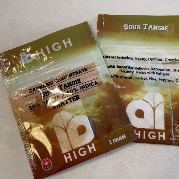Sour Tangie Shatter | IB HIGH